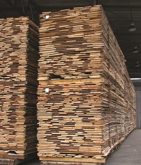 Sušenje žaganega lesa