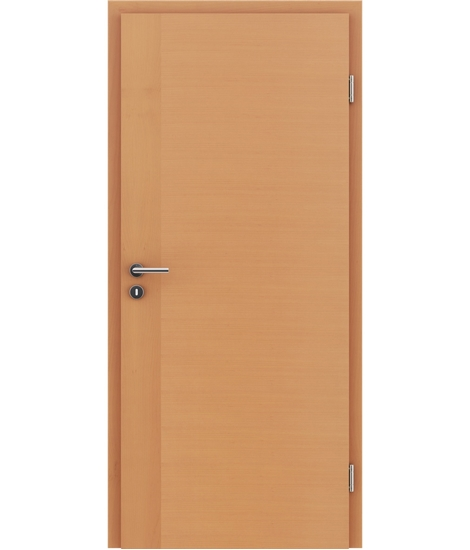 Furnirana notranja vrata s pokončno in/ali prečno strukturo VIVACEline - F3 bukev