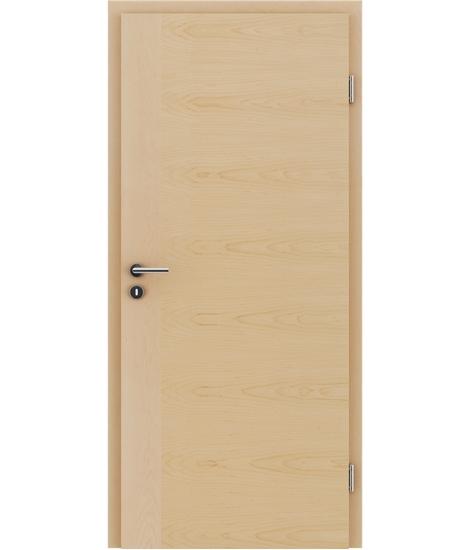Furnirana notranja vrata s pokončno in/ali prečno strukturo VIVACEline - F3 javor