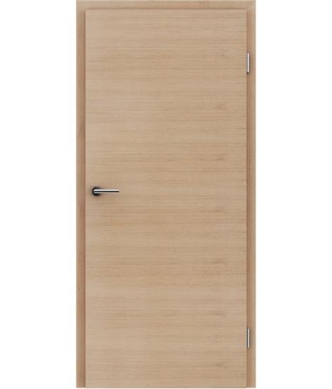 Furnirana notranja vrata s pokončno in/ali prečno strukturo VIVACEline - F4 hrast evropski belo oljen
