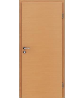 Furnirana notranja vrata s pokončno in/ali prečno strukturo VIVACEline - F4 bukev