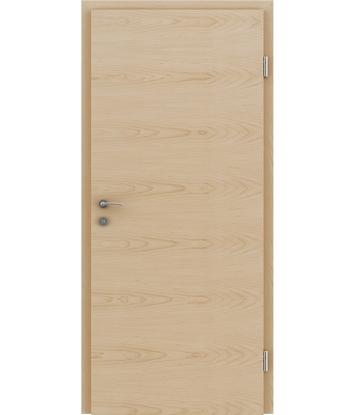 Furnirana notranja vrata s pokončno in/ali prečno strukturo VIVACEline - F4 javor