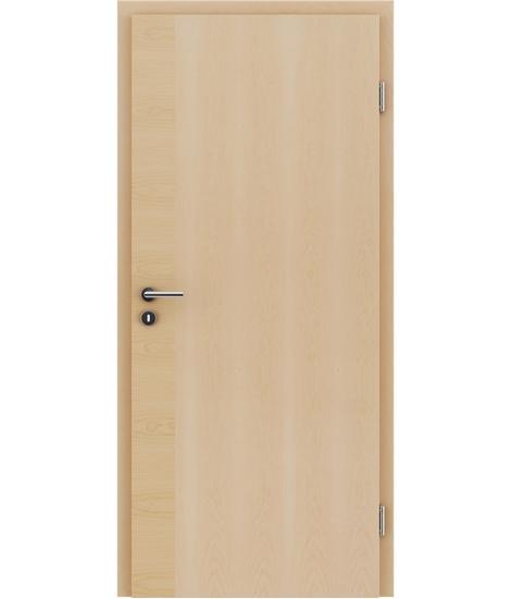 Furnirana notranja vrata s pokončno in/ali prečno strukturo VIVACEline - F12 javor