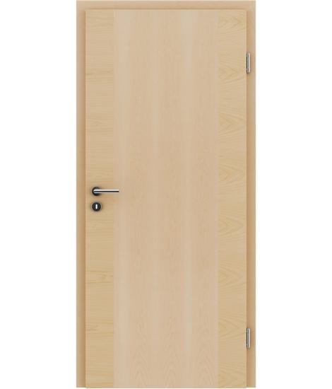 Furnirana notranja vrata s pokončno in/ali prečno strukturo VIVACEline - F14 javor
