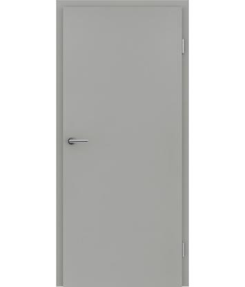 CPL notranja vrata za enostavno vzdrževanje VISIOline - sivi
