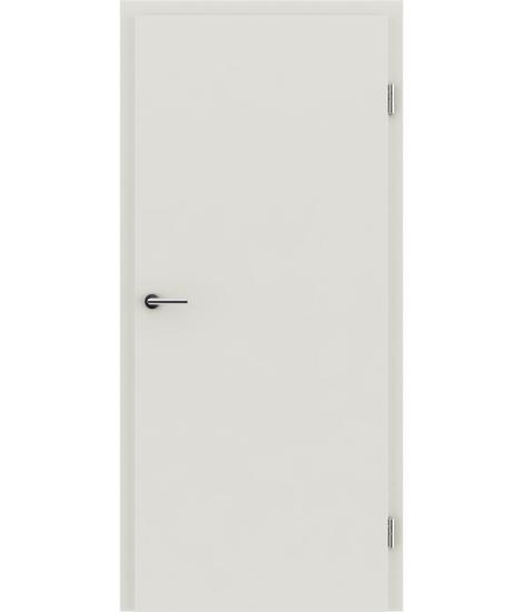 Notranja vrata z imitacijo furnirja BASICline - belo