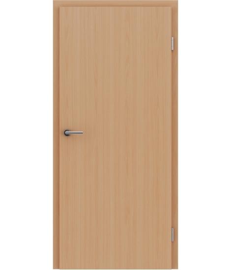Notranja vrata z imitacijo furnirja BASICline - bukev