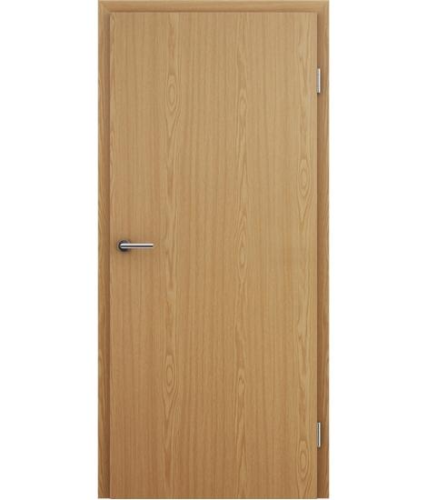Notranja vrata z imitacijo furnirja BASICline - hrast svetli