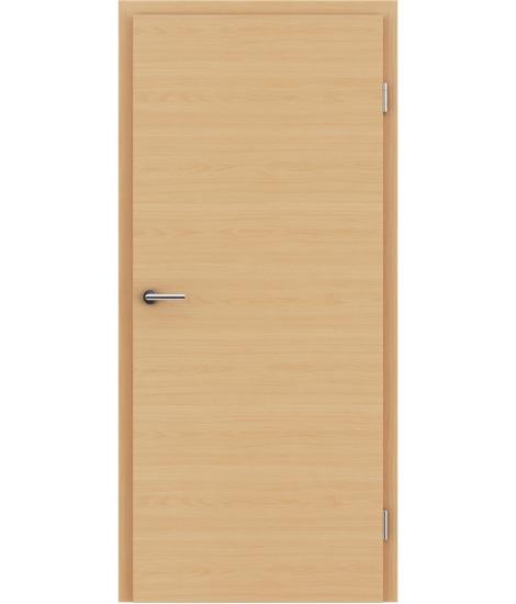 Notranja vrata z imitacijo furnirja BASICline - L1 bukev bordeaux