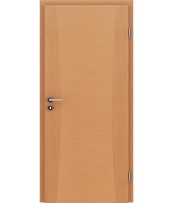 Picture of Furnirana notranja vrata z intarzijskimi vstavki HIGHline - I13 bukev