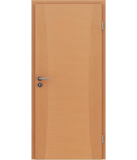 Furnirana notranja vrata z intarzijskimi vstavki HIGHline - I13 bukev