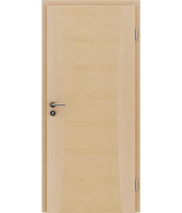 Furnirana notranja vrata z intarzijskimi vstavki HIGHline - I13 javor