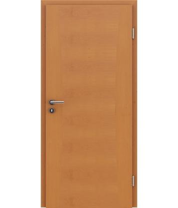 Furnirana notranja vrata z intarzijskimi vstavki HIGHline - I13 jelša tonirana