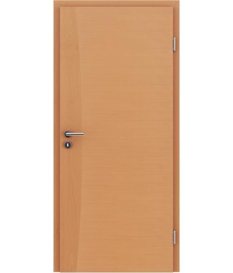 Furnirana notranja vrata z intarzijskimi vstavki HIGHline - I14 bukev
