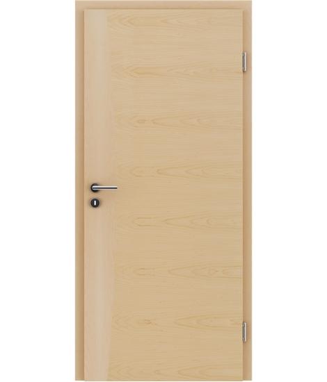 Furnirana notranja vrata z intarzijskimi vstavki HIGHline - I14 javor