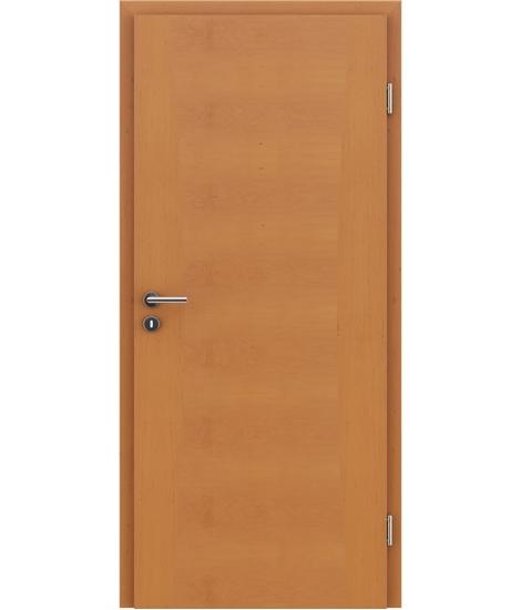 Furnirana notranja vrata z intarzijskimi vstavki HIGHline - I14 jelša tonirana
