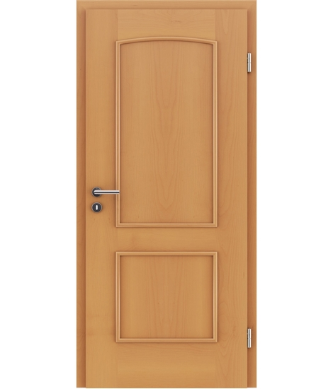 furnirana notranja vrata z okrasnimi letvicami STILline - SOAD bukev