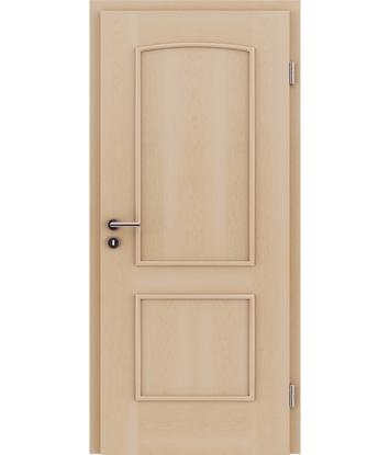 furnirana notranja vrata z okrasnimi letvicami STILline - SOAD javor