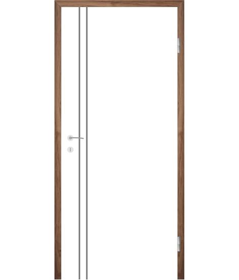 Belo lakirana notranja vrata COLORline - EASY R28L