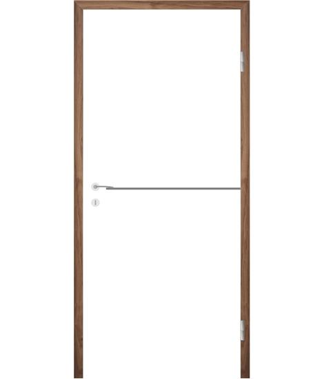 Belo pleskana notranja vrata z utori COLORline - MODENA R37L