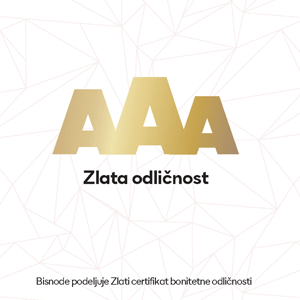 Picture of AAA certifikat BONITETNE ODLIČNOSTI