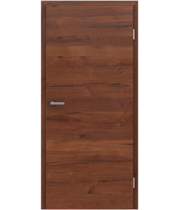 Picture of Furnirana notranja vrata s pokončno in/ali prečno strukturo VIVACEline PRESTIGE - F4 hrast Altholz mat lakiran