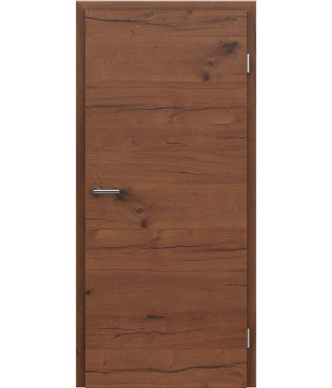 Furnirana notranja vrata s pokončno in/ali prečno strukturo VIVACEline PRESTIGE - F4 hrast Altholz oljen
