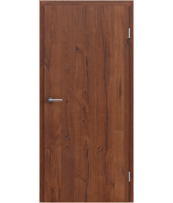 Furnirana notranja vrata s pokončno strukturo GREENline PRESTIGE - hrast Altholz mat lakiran