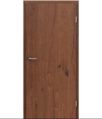 Furnirana notranja vrata s pokončno strukturo GREENline PRESTIGE - hrast Altholz oljen